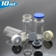 aluminium cap/ Rubber stopper injection vial 10ml